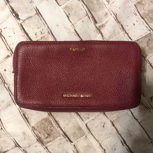 Mk makeup cosmetic bag